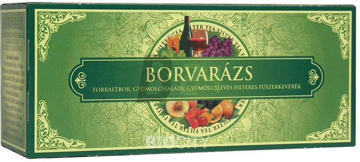 Borvarázs tea filteres (25 filter) ML001496-13-3