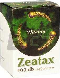 Zeatax fogyasztó rágótabletta 100 db (100 db) ML003506-15-4