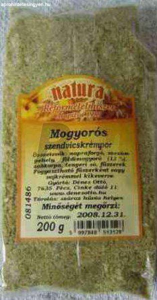 Natura szendvicskrémpor mogyorós (200 g) ML006089-34-10