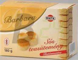 Barbara gluténmentes sós teasütemény (180 g) ML009509-27-6