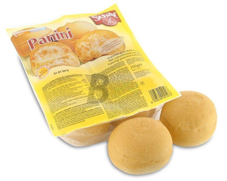 Schar gluténmentes panini zsemlék (200 g) ML010629-16-2