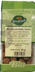 Biopont bio buláta tejcsokoládés (80 g) ML011279-34-8