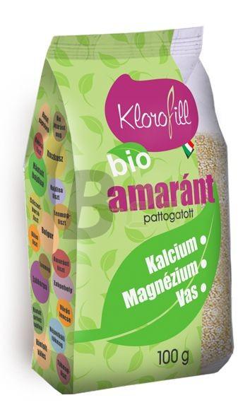 Klorofill bio pattogatott amarántmag (100 g) ML015675-31-10
