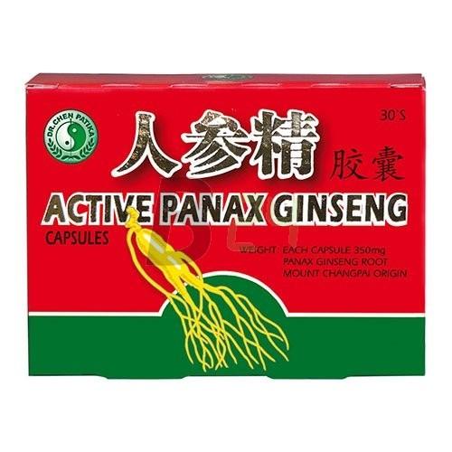Dr.chen aktív panax ginseng kapszula (30 db) ML020615-16-7