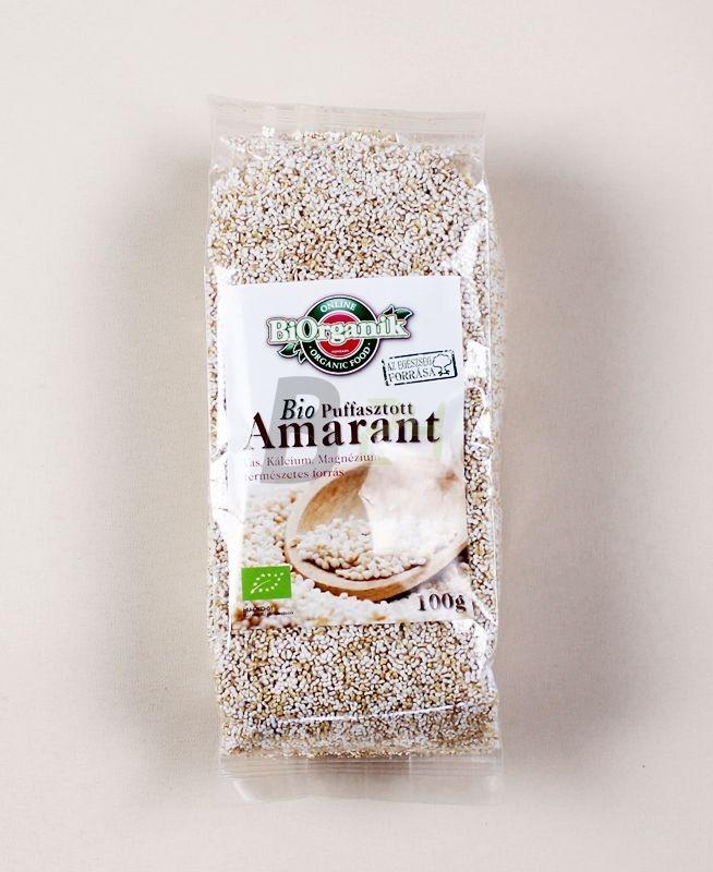Biorganik bio puffasztott amaránt 100 g (100 g) ML030352-31-11
