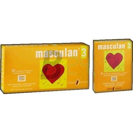 Masculan óvszer 3-as 3 db (3 db) ML035746-23-1