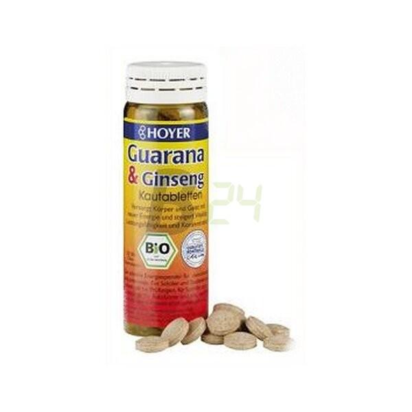 Hoyer guarana+ginseng rágótabletta (60 db) ML035871-35-4