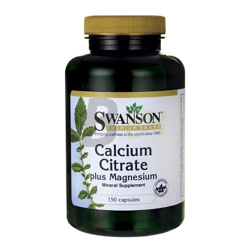 Swanson kalcium-citrát-magnézium kapsz. (150 db) ML042608-34-9