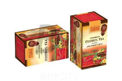 Teaház rooibos tea eper+keleti füszerek (20 filter) ML043858-38-4