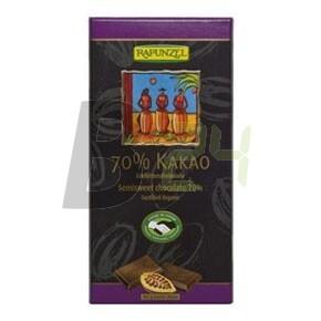 Rapunzel bio keserűcsoki 70% 80 g (80 g) ML043898-28-4