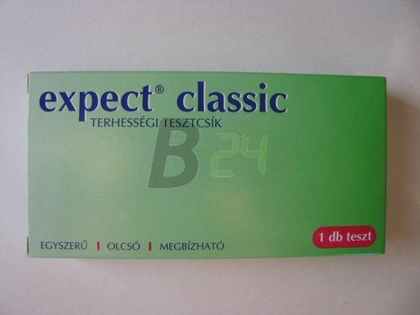 Expect classic terhességi tesztcsík (1 db) ML044360-25-11