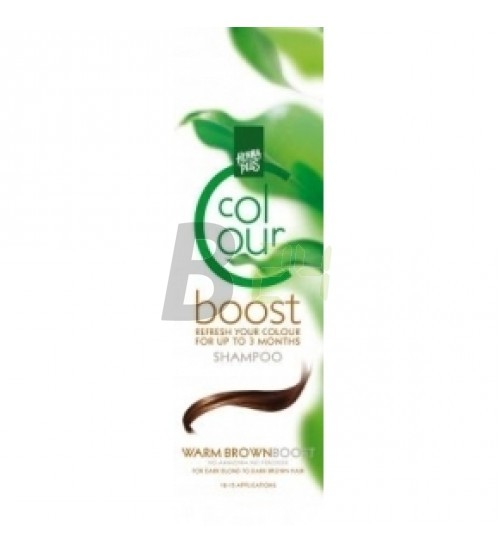 Henna színmegújító sampon melegbarna (200 ml) ML045422-22-1