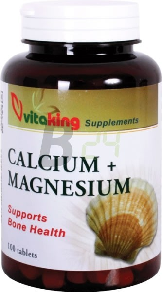 Vitaking kalcium-magnézium tabletta (100 db) ML046976-18-10