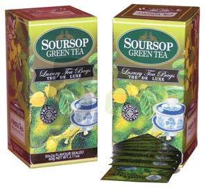 Mlesna soursop zöld tea /kínáló/ (30 filter) ML048087-38-11