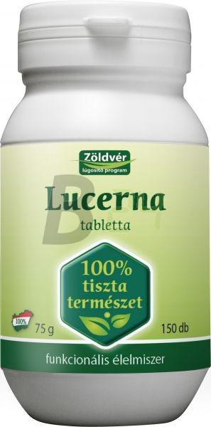 Zöldvér lucerna tabletta 150 db (150 db) ML054291-17-8