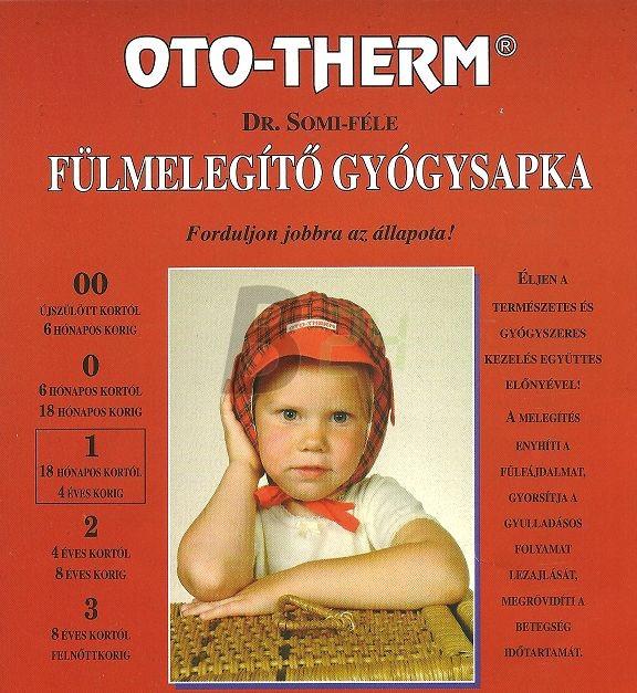 Oto-therm fülmelegító gyógysapka /1/ (1 db) ML054399-26-4