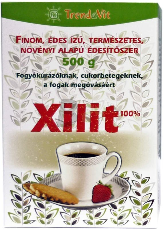 Trendavit xilit édesitőszer dobozos 500g (500 g) ML056076-17-9
