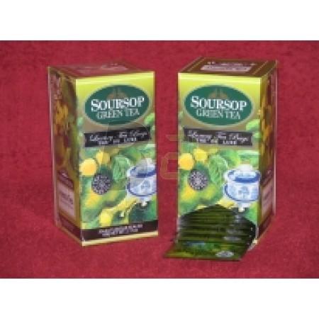 Mlesna zöld tea filteres /kínáló/ (30 filter) ML060713-38-8