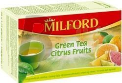 Milford zöld citrus tea (20 filter) ML065056-36-4
