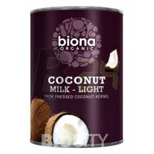 Biona bio kókusztej light (400 ml) ML068698-13-8