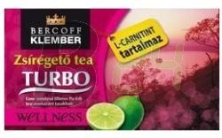 Klember zsírégető tea turbo l-carnitine (20 filter) ML069294-38-9