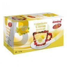 Happy gyümölcstea filt. citrom (20 filter) ML070184-39-11