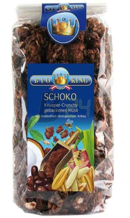 Bioking bio csokoládés-mogyorós müzli (375 g) ML070219-30-2