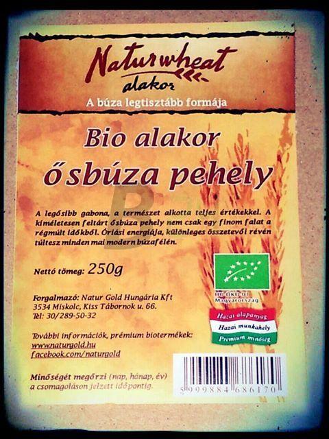 Naturwheat bio alakor ősbúza pehely 250g (250 g) ML073310-30-7