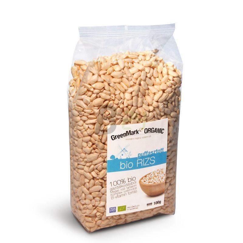 Greenmark bio puffasztott rizs (100 g) ML073662-31-11