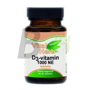 Vital herb d3-vitamin kapszula (90 db) ML074142-33-10