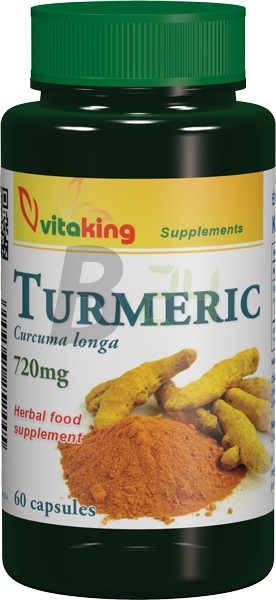 Vitaking kurkuma kapszula (60 db) ML074605-18-10