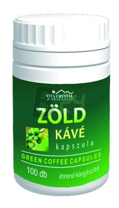 Vita crystal zöld kávé kapszula 100 db (100 db) ML074981-17-6