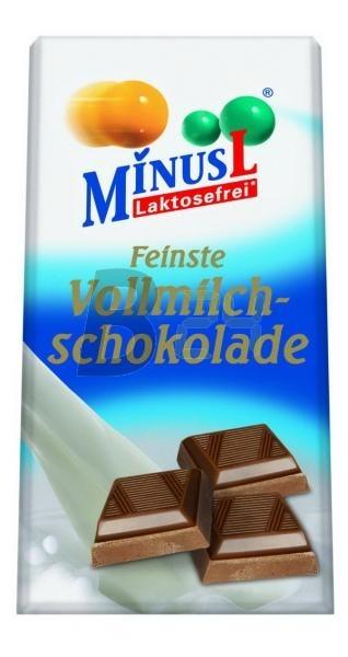 Minus l tejcsokoládé (80 g) ML077725-21-7