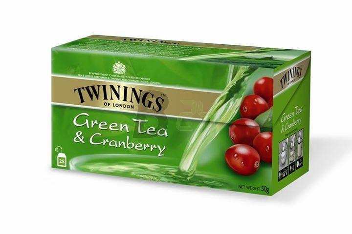 Twinings zöldtea áfonyás (25 filter) ML077919-36-5