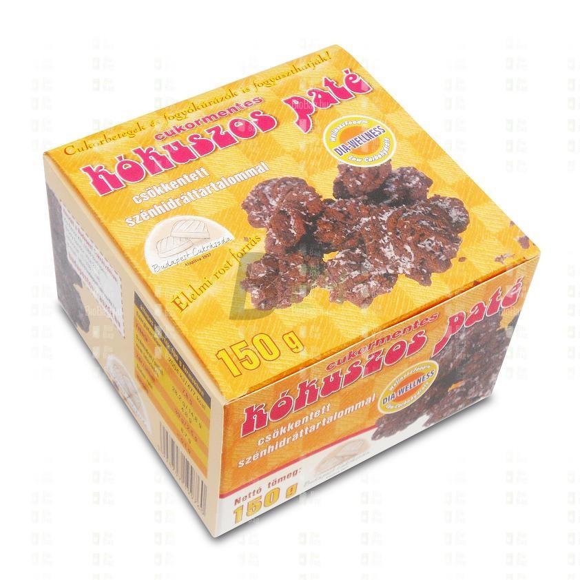 Dia-wellness teasütemény csokis-kókuszos (155 g) ML077951-17-6