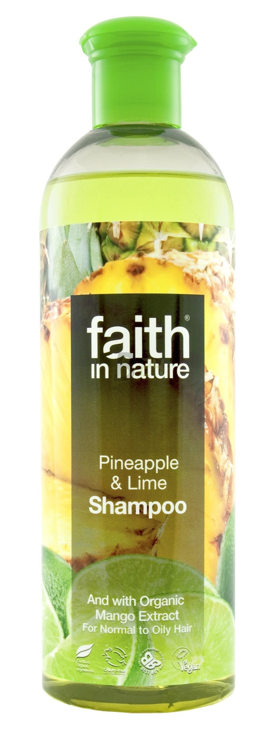 Faith in nature tusfürdő anan.-lime 250 (250 ml) ML078415-28-5
