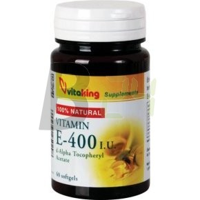 Vitaking e-400 vitamin kapszula 60 db (60 db) ML078518-18-10