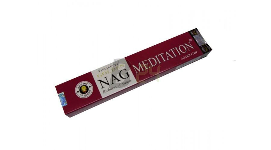 Füstölö golden nag meditation (1 doboz) ML078927-20-4