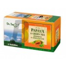 Dr.tea papaya+zöld tea 20 filter (20 filter) ML001491-14-10