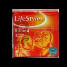 Lifestyle óvszer ribbed 3 db (3 db) ML003343-23-1