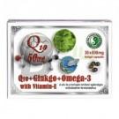 Dr.chen q10+ginkgo+omega-3 kapszula (30 db) ML045586-18-3