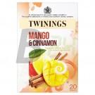 Twinings mangó-fahéj tea 20 db (20 filter) ML047976-36-5